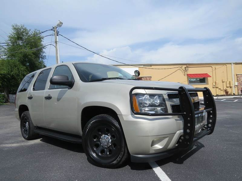 2014 Chevrolet Tahoe Police 4x2 4dr SUV In Largo FL - Classic Automobile Co Inc