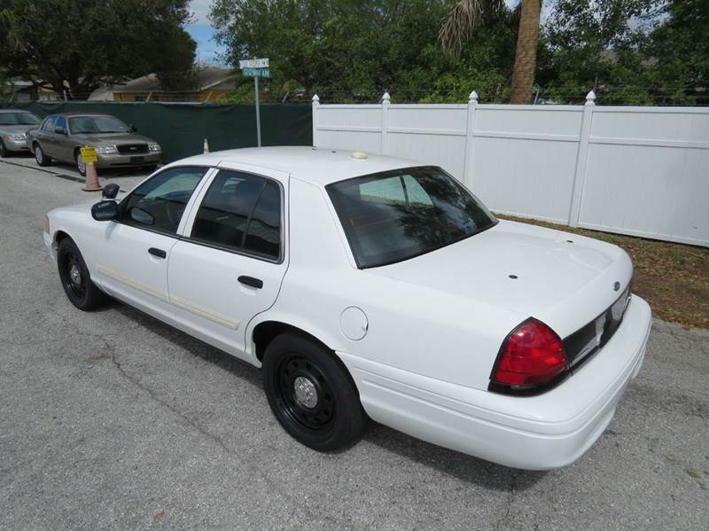 2010 Ford Crown Victoria Police Interceptor 4dr Sedan (3.55 Axle) - Largo FL