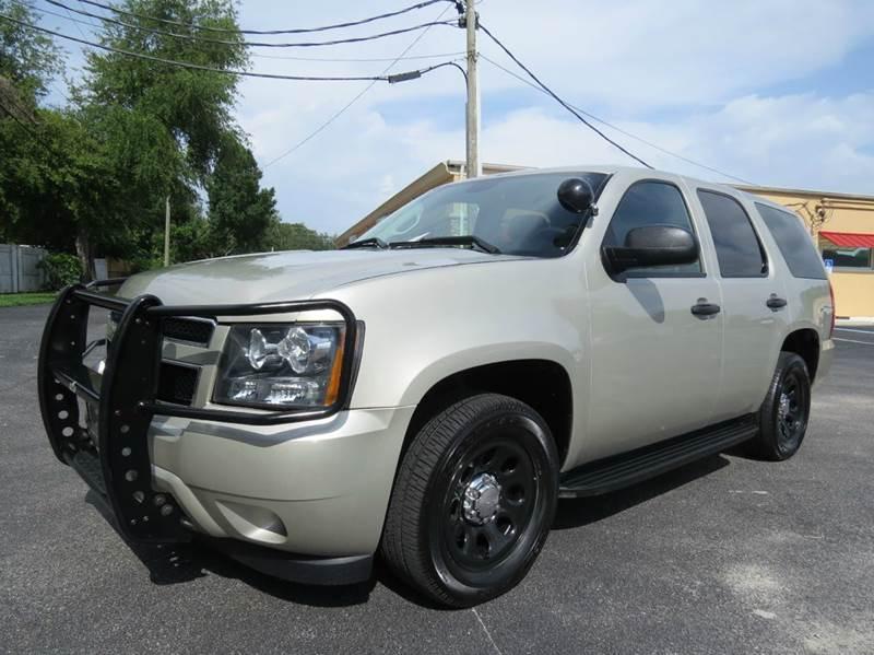 2014 Chevrolet Tahoe Police 4x2 4dr SUV In Largo FL - Classic Automobile Co Inc