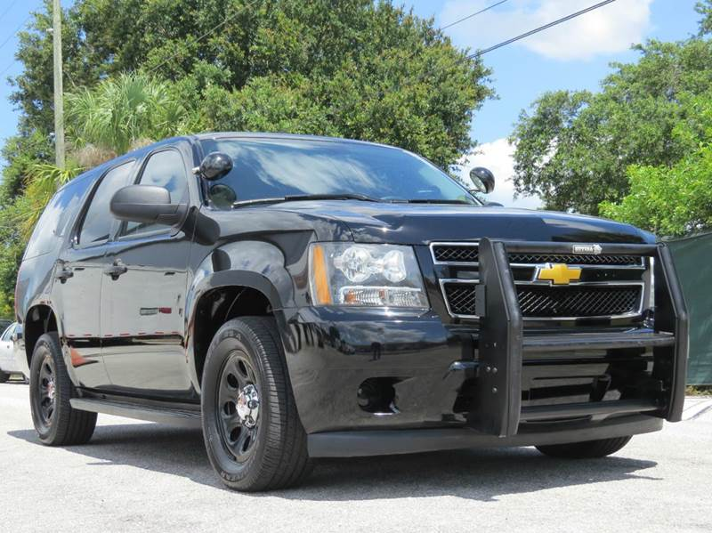 Chevrolet Tahoe For Sale Carsforsale Com >> 2012 Chevrolet Tahoe Police 4x2 4dr SUV In Largo FL - Classic Automobile Co Inc