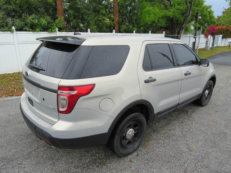 2013 ford explorer police interceptor awd 4dr suv in largo fl classic autom. Cars Review. Best American Auto & Cars Review