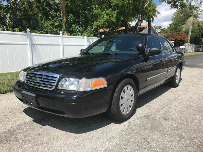 2010 Ford Crown Victoria Police Interceptor w/ Street Appearance Package 4dr Sedan (3.27 Axle) - Largo FL