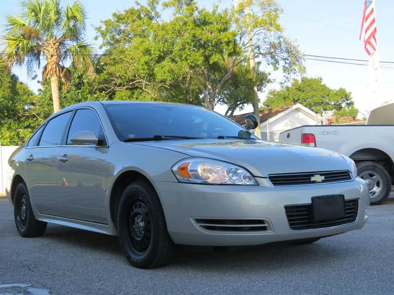 2009 chevrolet impala police 4dr sedan in largo fl. Black Bedroom Furniture Sets. Home Design Ideas
