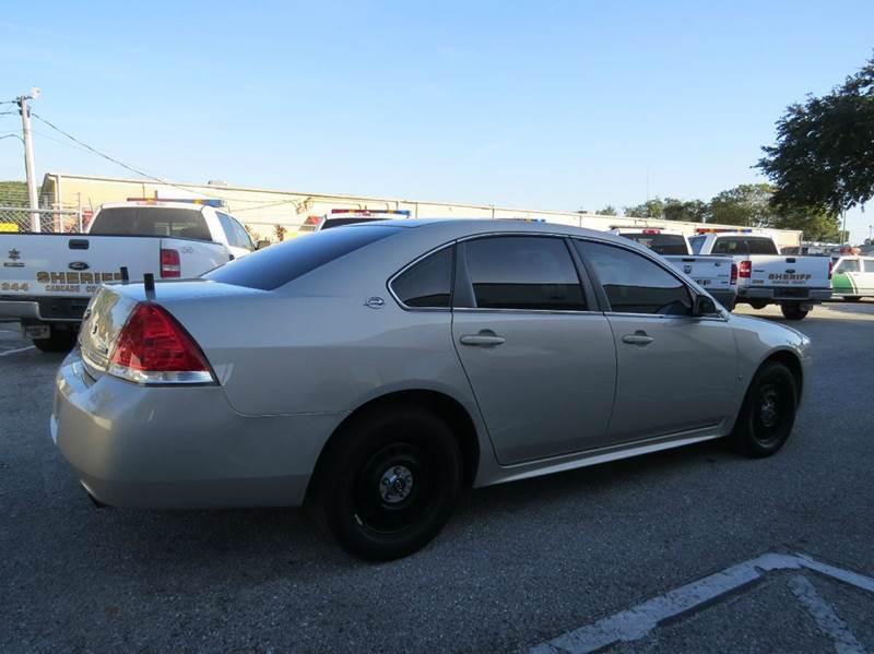 2009 Chevrolet Impala Police 4dr Sedan - Largo FL