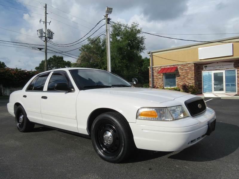 2011 Ford Crown Victoria Police Interceptor 4dr Sedan (3.27 Axle) - Largo FL