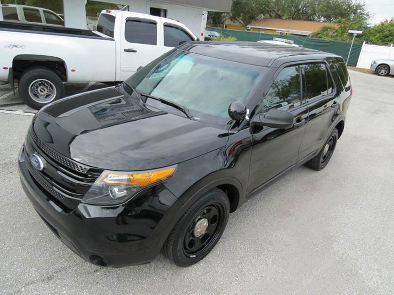 2013 Ford Explorer AWD Police Interceptor 4dr SUV - Largo FL