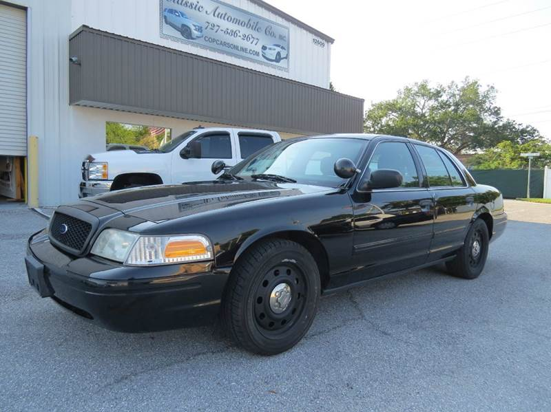 2009 ford crown victoria police interceptor 4dr sedan 3. Black Bedroom Furniture Sets. Home Design Ideas
