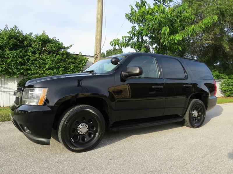 2011 Chevrolet Tahoe 4x2 Police 4dr SUV - Largo FL
