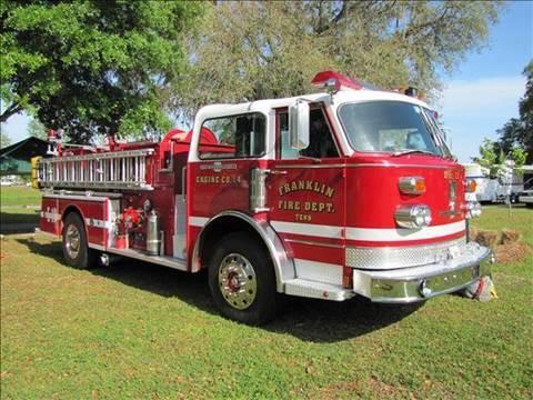 1978 American Lafrance Fire Truck