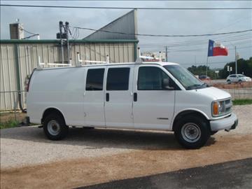 2002 chevrolet express cargo for sale for Goldstar motor company winchester virginia