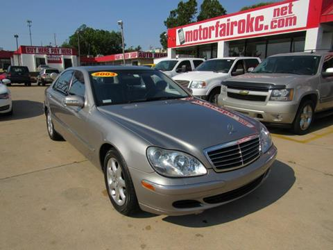 2003 Mercedes-Benz S-Class for sale in Oklahoma City, OK