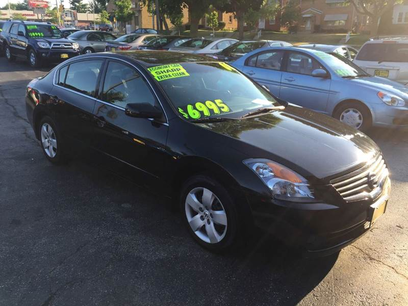 2008 nissan altima 2 5 s 4dr sedan cvt in milwaukee wi gs auto sales inc. Black Bedroom Furniture Sets. Home Design Ideas