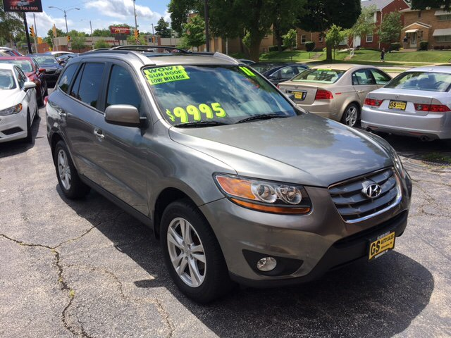 2011 hyundai santa fe limited 4dr suv v6 in milwaukee wi. Black Bedroom Furniture Sets. Home Design Ideas