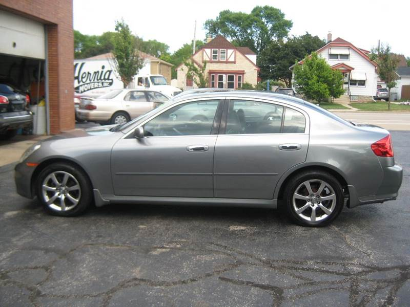 2005 infiniti g35 x awd 4dr sedan in milwaukee wi gs. Black Bedroom Furniture Sets. Home Design Ideas