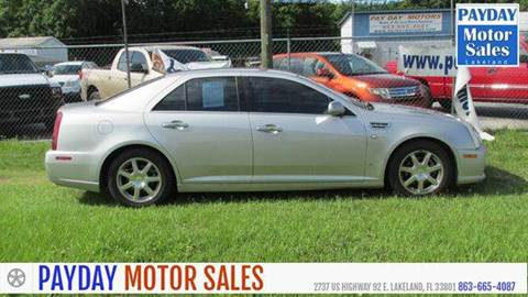 Cadillac sts for sale florida for Frontier motors inc pensacola fl