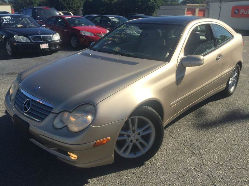 2002 mercedes benz c class c230 kompressor 2dr hatchback for Mercedes benz va beach