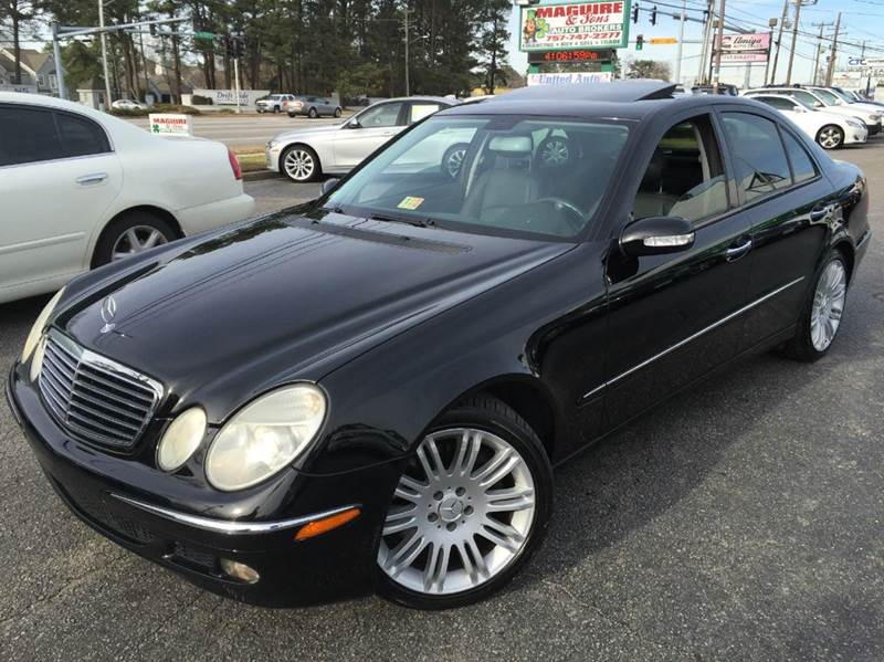 2005 mercedes benz e class e500 4matic awd 4dr sedan in for Mercedes benz virginia beach