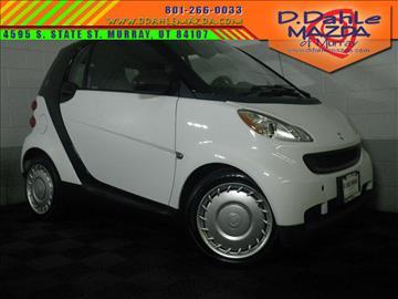 2012 Smart fortwo for sale in Salt Lake City, UT