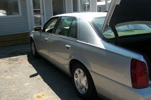 2002 Cadillac DeVille for sale in Greenwood, SC