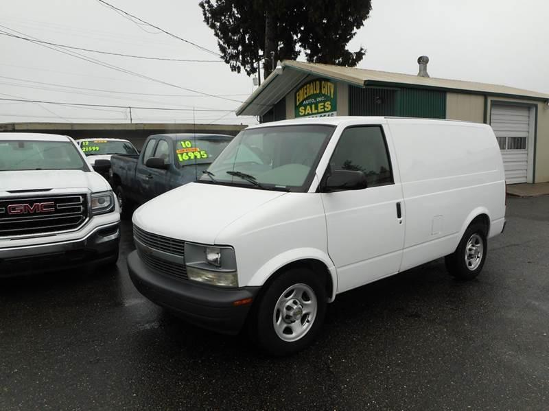 2005 Chevrolet Astro Cargo For Sale In Seattle WA