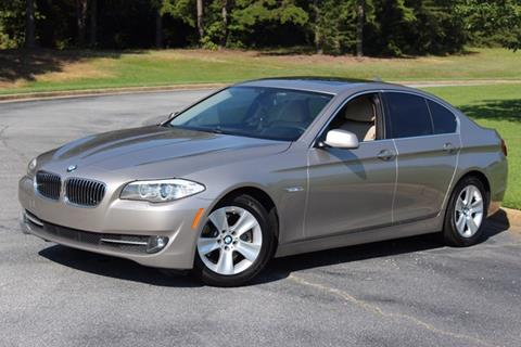 2013 BMW 5 Series for sale in Greenville SC