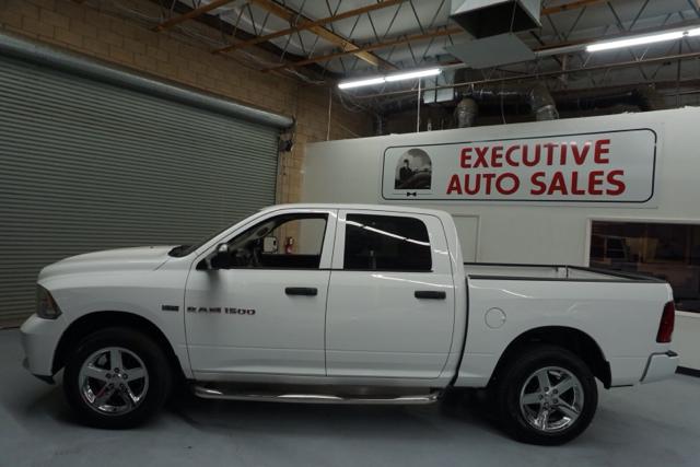 2012 RAM Ram Pickup 1500 ST 4x4 4dr Crew Cab 5.5 ft. SB Pickup - Fresno CA