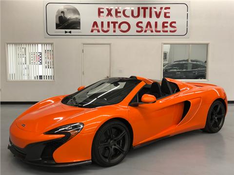2015 McLaren 650S Spider for sale in Fresno, CA