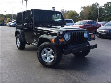 2006 Jeep Wrangler for sale in Channahon, IL