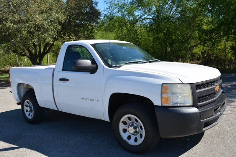 2012 Chevrolet Silverado 1500 4x2 Work Truck 2dr Regular Cab 6.5 ft. SB - Alice TX