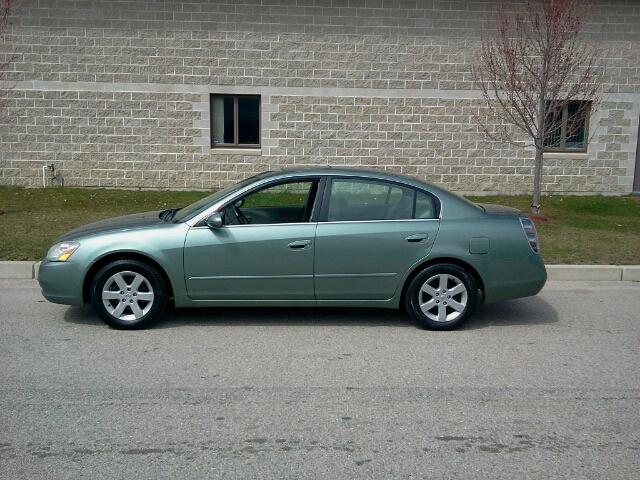 2002 Nissan Altima 2.5L L4 DOHC 16V 2.5 S