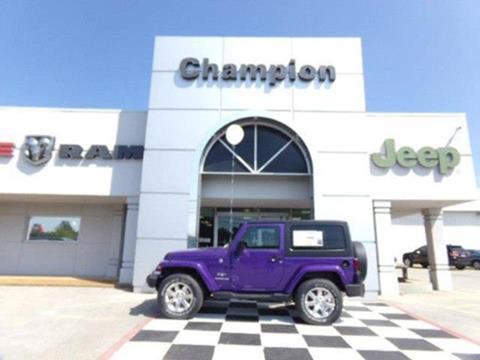 2017 Jeep Wrangler for sale in Athens, AL