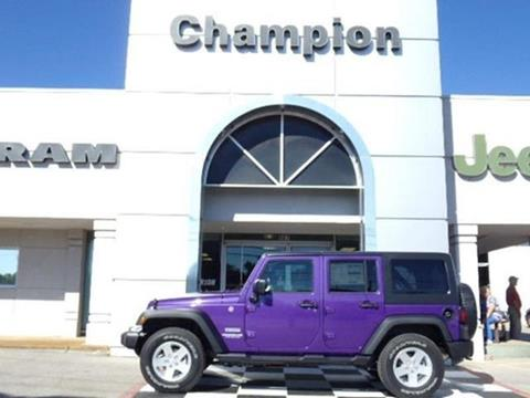 2017 Jeep Wrangler Unlimited for sale in Athens, AL
