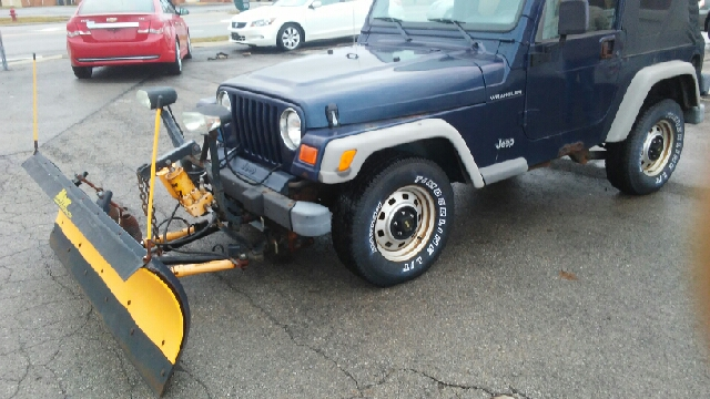 2002 Jeep Wrangler Se 4wd 2dr Suv In Bellefontaine Oh