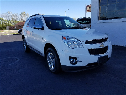 2013 Chevrolet Equinox for sale in Bellefontaine, OH