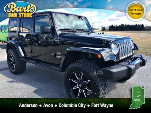 2017 Jeep Wrangler Unlimited for sale in Columbia City, IN