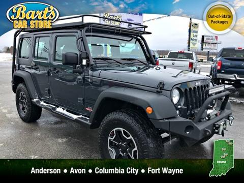 2016 Jeep Wrangler Unlimited for sale in Columbia City, IN