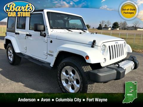 2015 Jeep Wrangler Unlimited for sale in Columbia City, IN