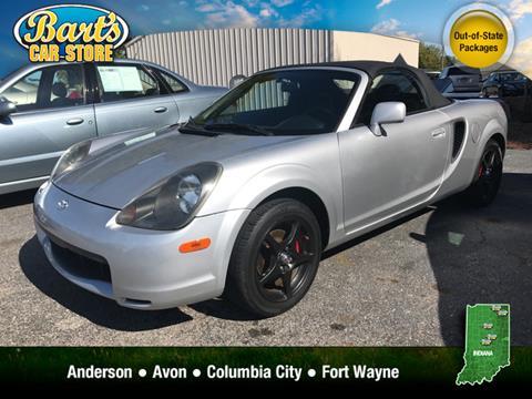 2002 Toyota MR2 Spyder for sale in Columbia City, IN