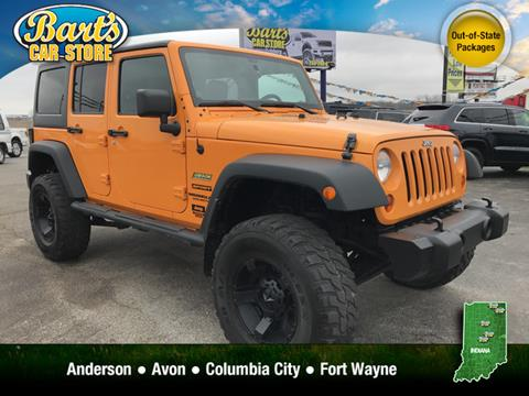 2013 Jeep Wrangler Unlimited for sale in Columbia City, IN