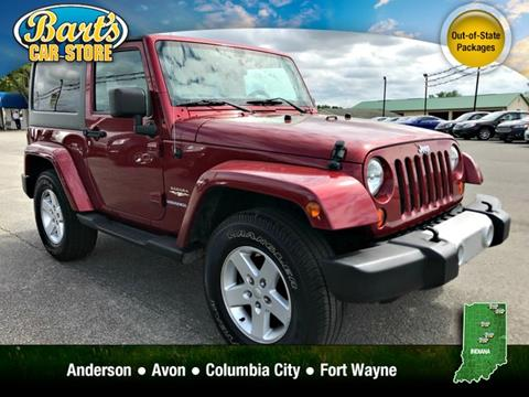 2012 Jeep Wrangler for sale in Columbia City, IN