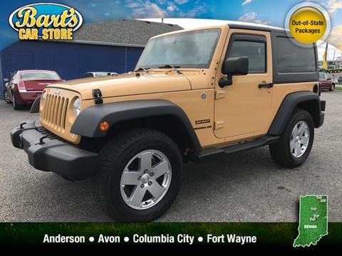 2014 Jeep Wrangler for sale in Columbia City, IN