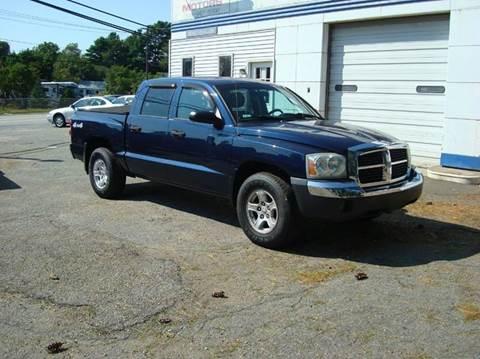 Used 2005 dodge dakota for sale in massachusetts for Southeast motors middleboro ma