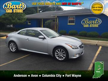 2011 Infiniti G37 Convertible for sale in Avon, IN