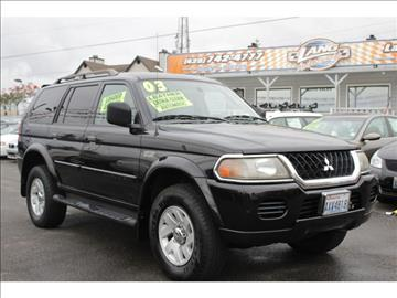 2003 Mitsubishi Montero Sport for sale in Lynnwood, WA