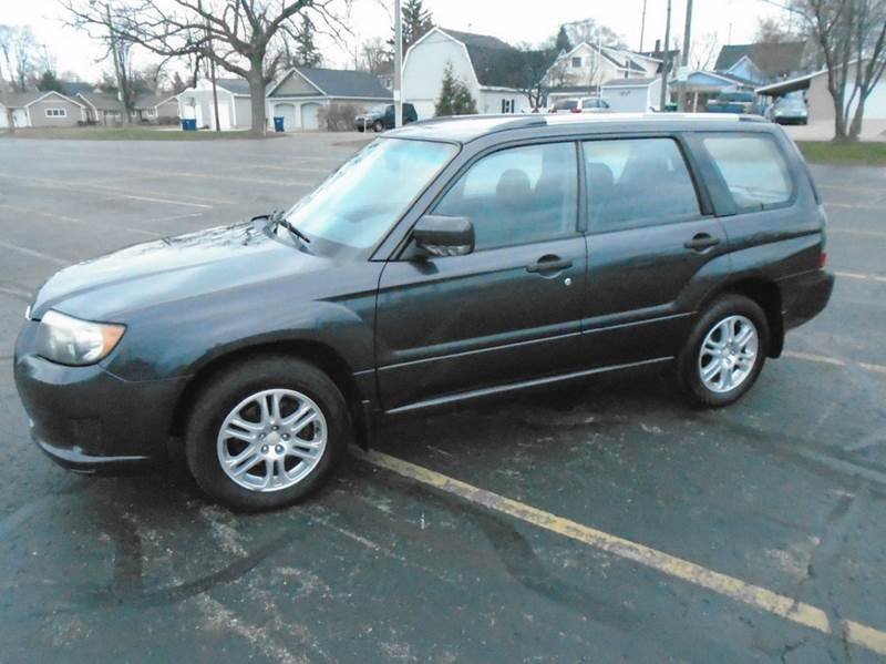 2008 subaru forester awd sports 2 5 x 4dr wagon 4a w emissions equipment in traverse city mi. Black Bedroom Furniture Sets. Home Design Ideas