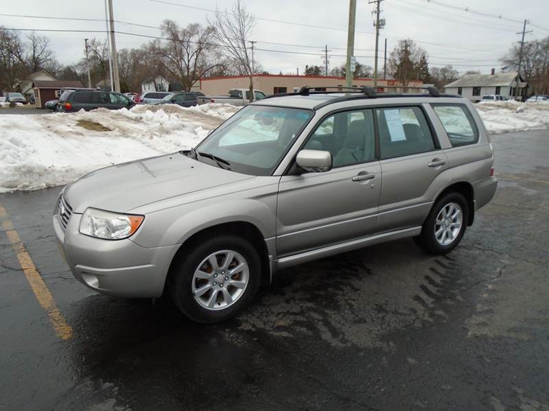 2006 subaru forester awd 2 5 x premium package 4dr wagon 5m in traverse city mi jack 39 s auto. Black Bedroom Furniture Sets. Home Design Ideas