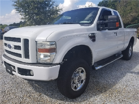 2008 Ford F-250 Super Duty & Ford Used Cars financing For Sale Athens Marks and Son Used Cars markmcfarlin.com