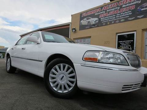 2005 Lincoln Town Car for sale in Hollywood, FL