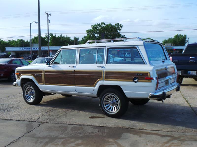 1989 Jeep Grand Wagoneer Base 4dr 4WD SUV - Broken Arrow OK