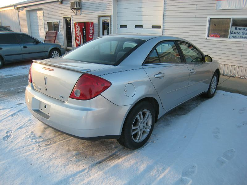 2006 Pontiac G6 4dr Sedan w/V6 - Frankfort IN